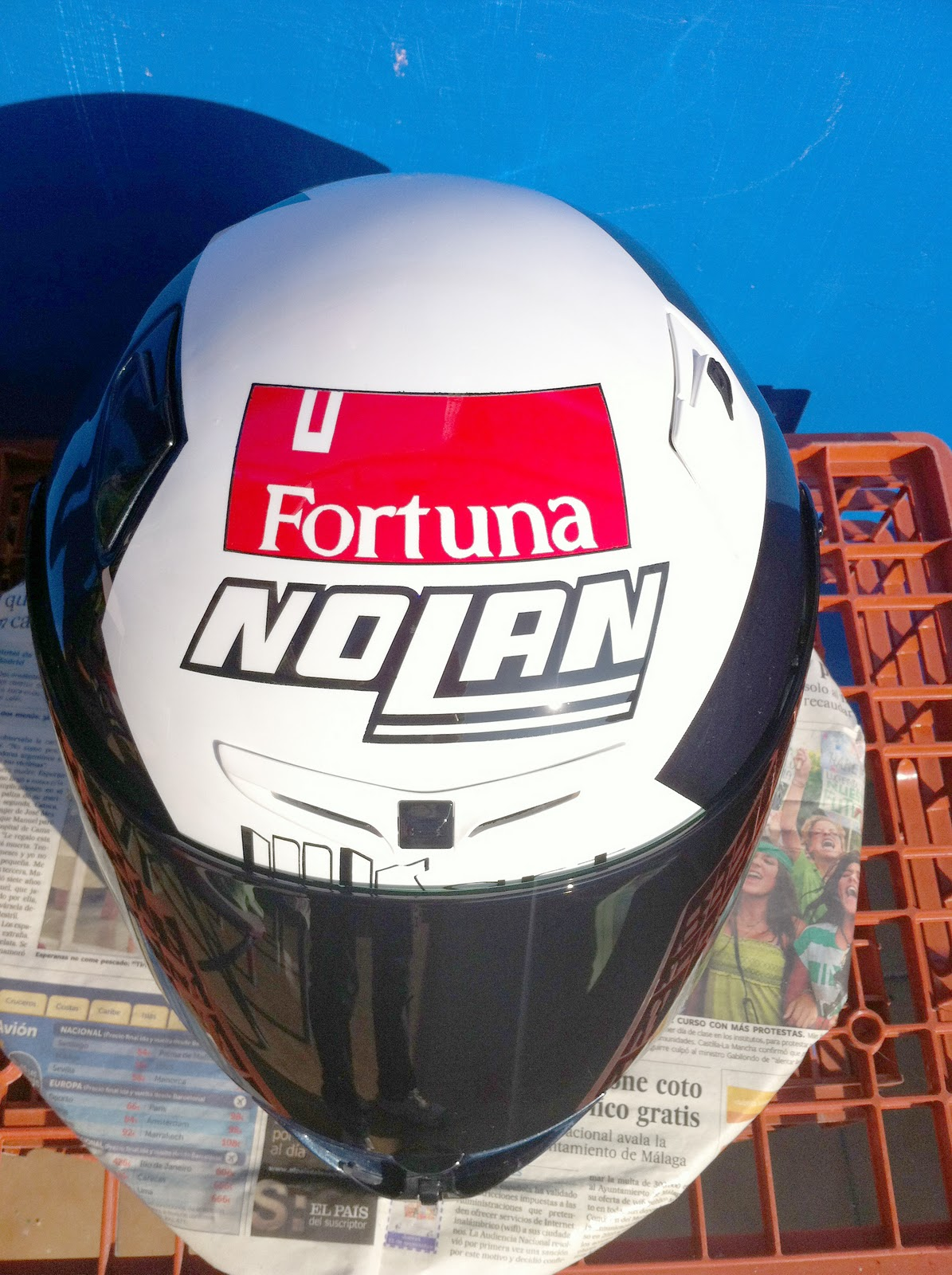 Nolan X802r Alberto Puig Replica Mk Art Productions Helmet Artists Stiker Helm Desain Rpha Lorenzo Its The Design Of Made On A That Currently Wearing Drivers Motogp This Wore