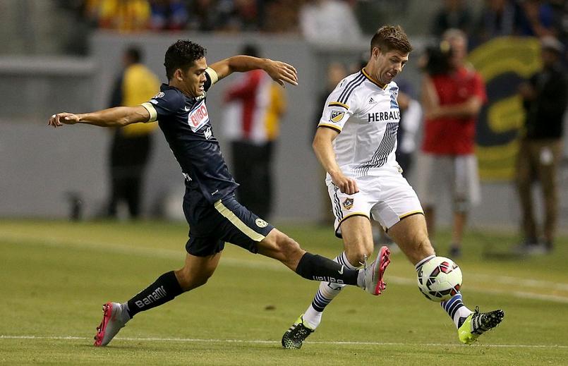 Steven Gerrard menyelesaikan 45 menit pada debut Los Angeles Galaxy