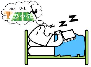 Uyurken bilinçaltımız yine futbolla mı meşgul?