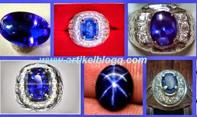 gambar blue safir