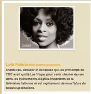 Medjugorge : Lola Falana 1987-88 et Diana Basile1984