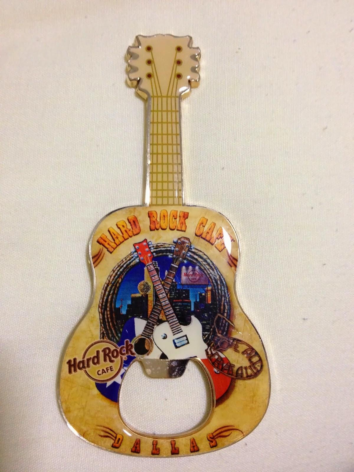 Hard Rock Cafe Guitar Magnets