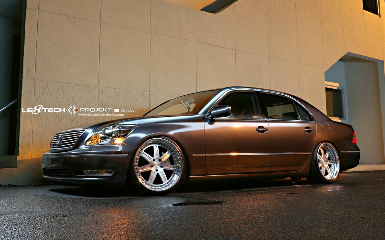 all cars nz 2006 lexus ls430 by k3 projekt. Black Bedroom Furniture Sets. Home Design Ideas