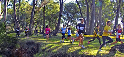 Cross country CAU en Trinidad - Flores (16/ago/2014)
