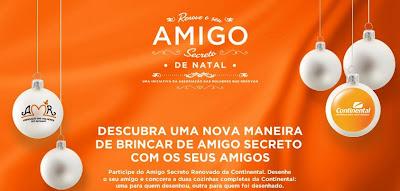Concurso Cultural Amigo Secreto Continental