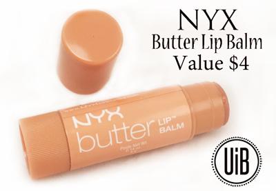 NYX Butter Lip Balm by @unitedinbeauty