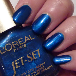 L'Oreal Jet-Set Nail Polish Swatch of 235
