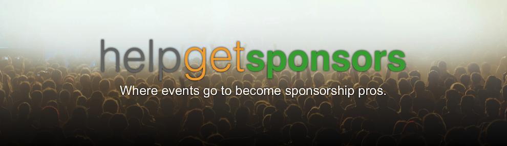 Help Get Sponsors Blog