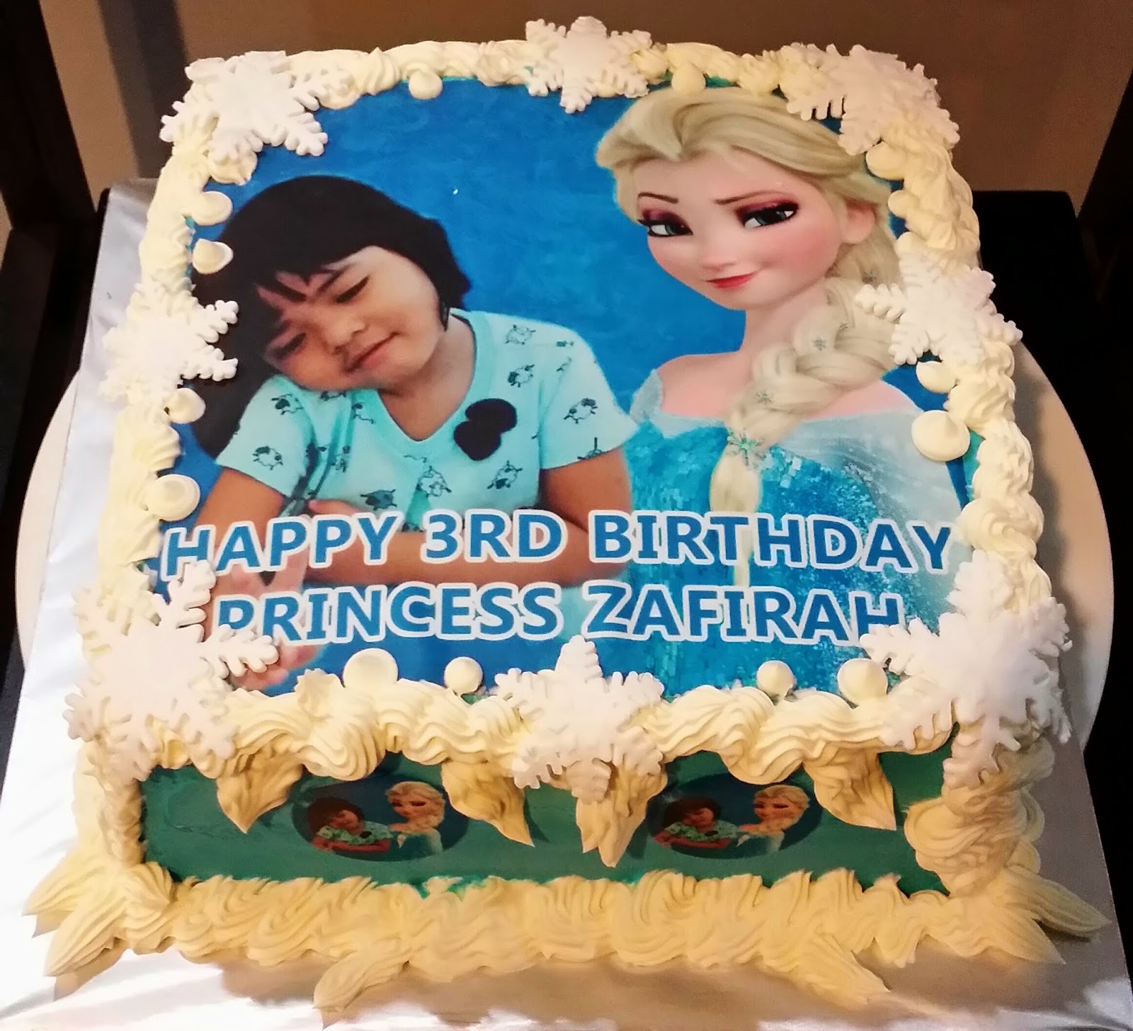 Just Lildaisy Ampang Frozen birthday Cakecome to our shop at