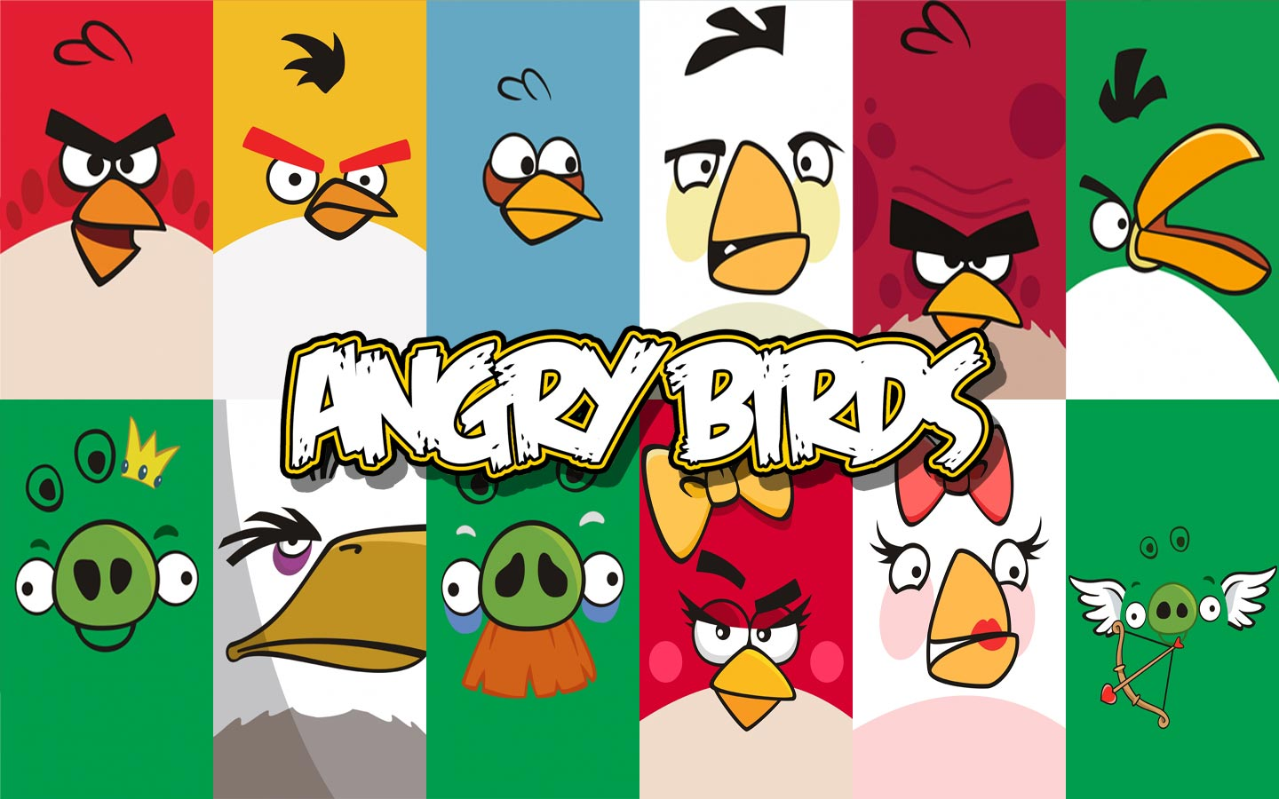 Angry Birds Wallpaper For Desktop