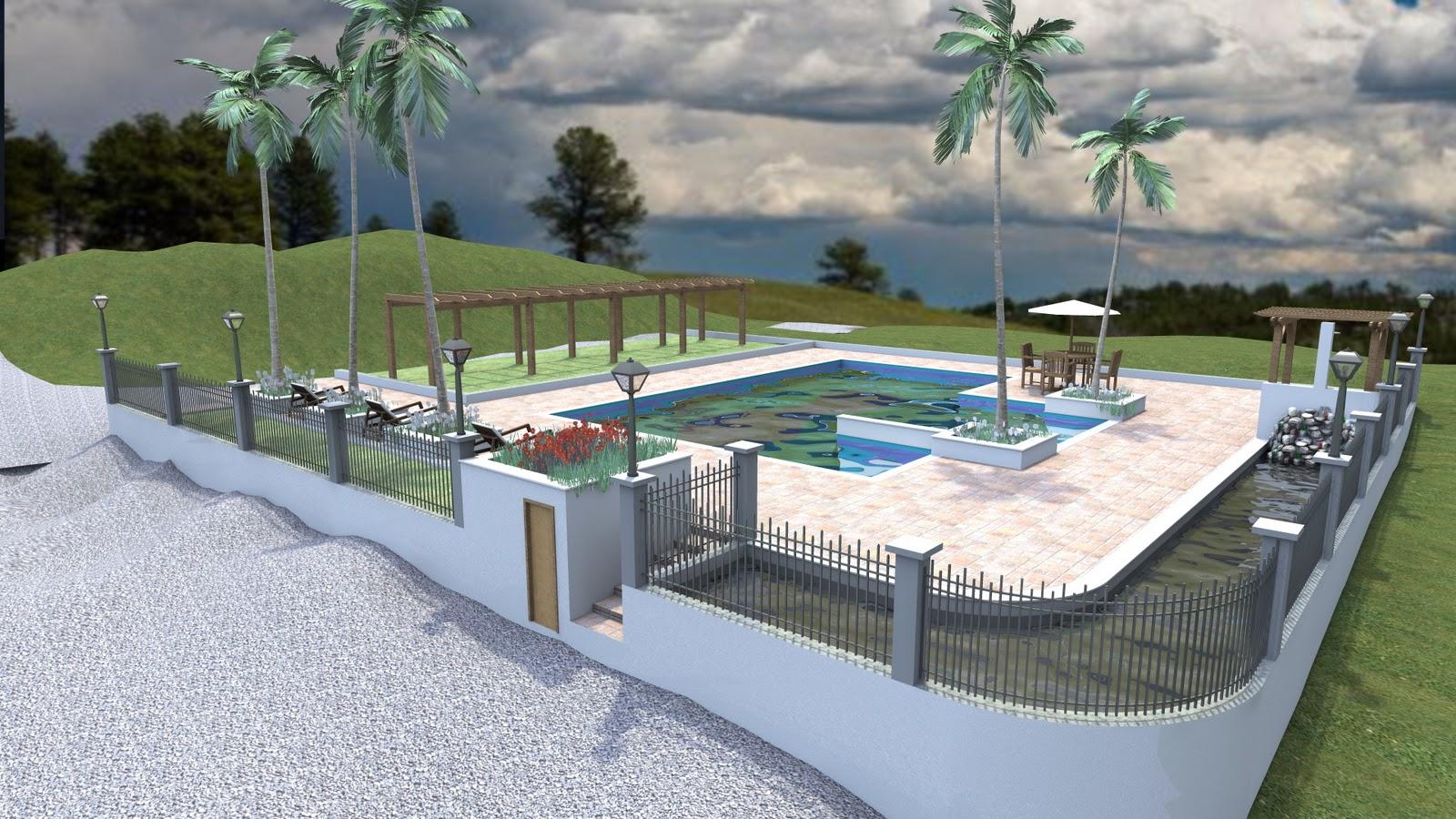 Nova piscina 3d hees for Piscina 3d