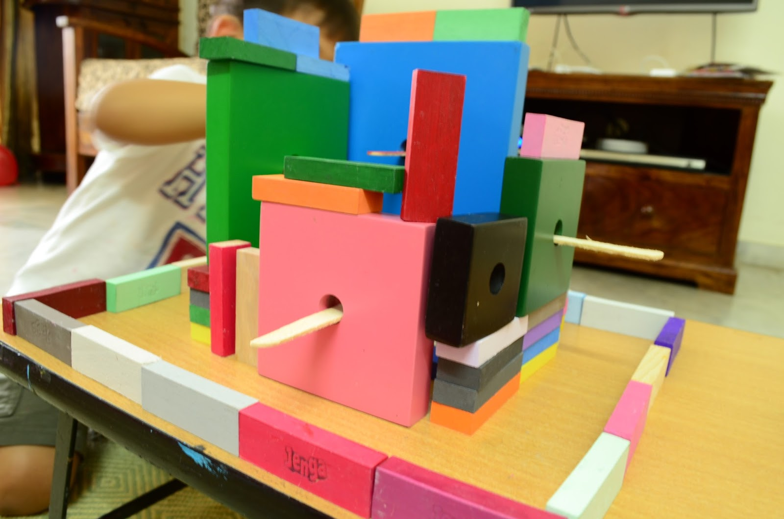 Block Play for Kids who love Art