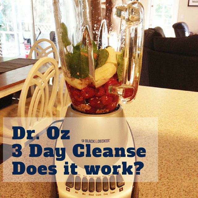dr oz cleanse does it work