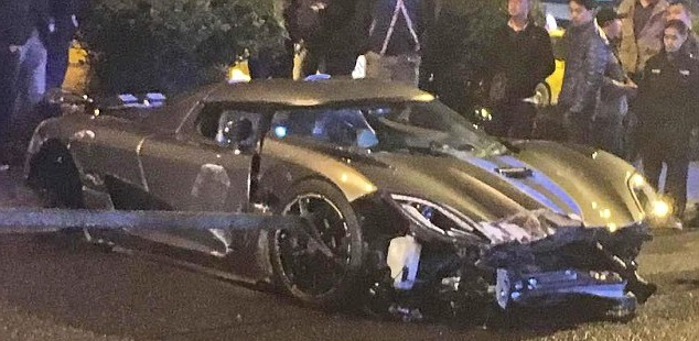 Koenigsegg Agera R Crashes In China Car Reviews New Car Pictures