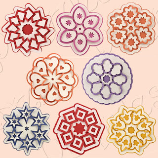 Cut and Fold Medallion Cutting Collection