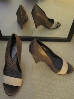ports 1961 open toe wedge sandals shoes