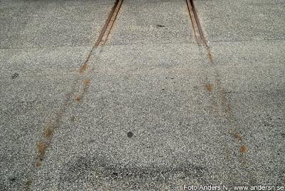 spårlöst försvunnen, gamla spår, järnvägsspår, foto anders n