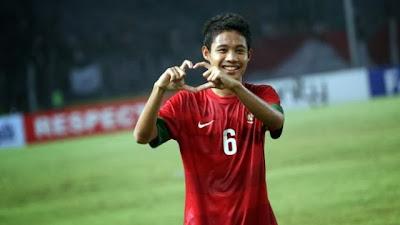 "Biodata Pemain Sepak Bola U-19 ""Evan Dimas Darmono"""