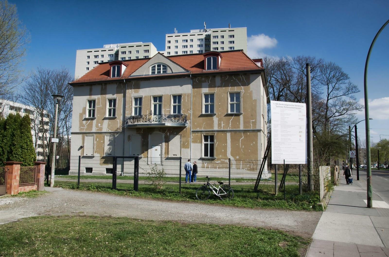 berliner baustellen 0301 baustelle 1 bauabschnitt denkmalgerechte sanierung schloss. Black Bedroom Furniture Sets. Home Design Ideas