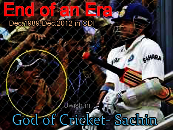 mayans were right afterall. Its end of ODI cricket on sachin retirement 2012