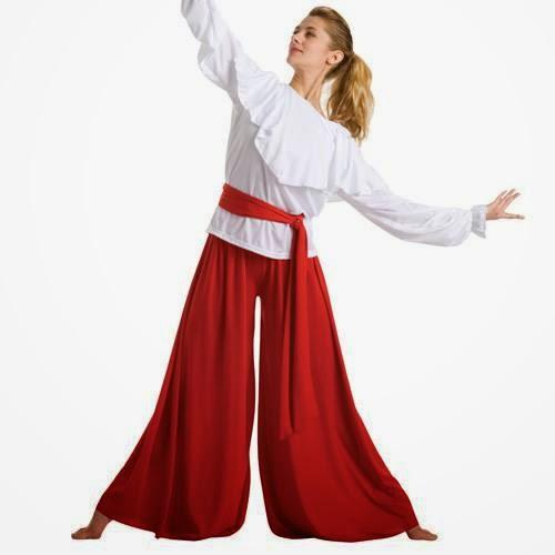 Vestes para dança gospel