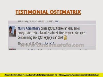 testimoni ostematrix shaklee untuk kekuatan gigi dan tulang yang sihat