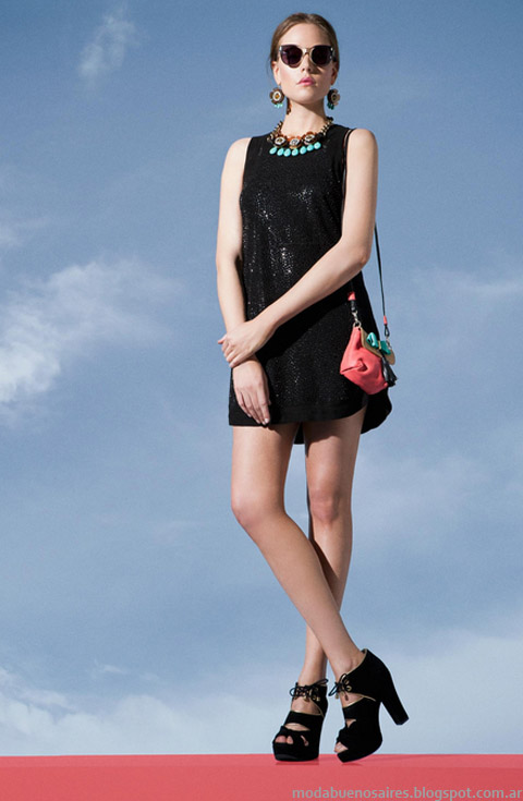 Moda verano 2013. Jazmin Chebar vestidos verano.