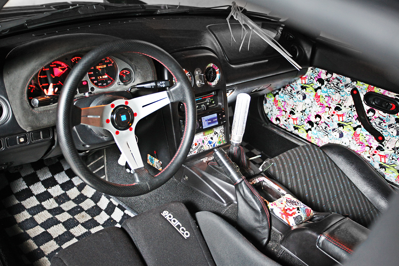 The JDMBits Miata Interior By Mythos!