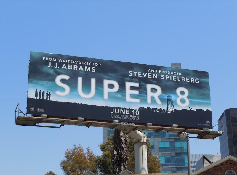 Super 8 film billboard