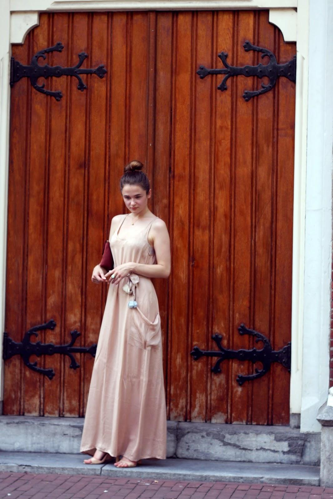 gracious maxi dress