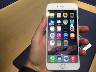 Tampilan appstore replika iPhone 6 plus HDC