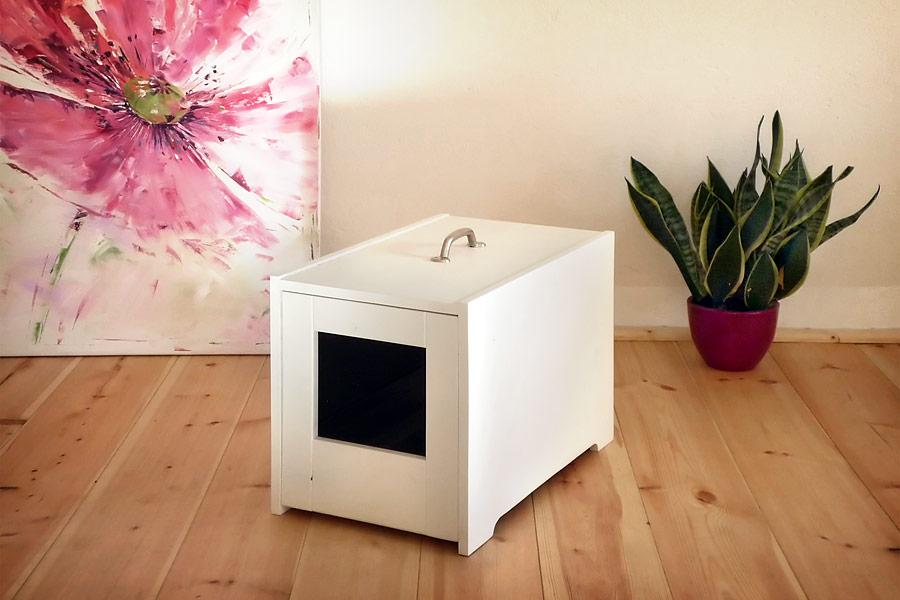 katzen pilot katzenklos edel praktisch exklusiv. Black Bedroom Furniture Sets. Home Design Ideas