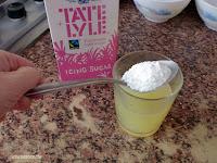 agregar azúcar glas