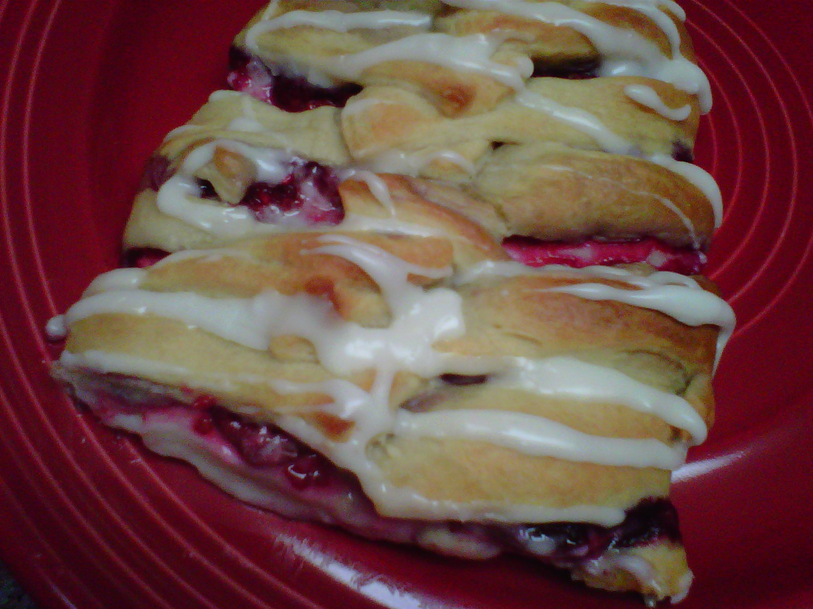 Easy Raspberry Cream Cheese Danish | The Secret Ingredient is Love