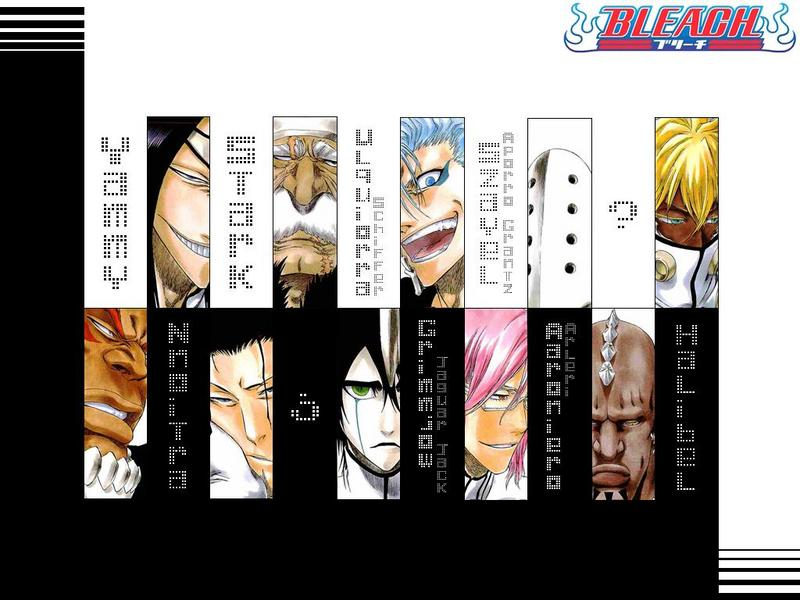 Bleach Hollow Characters List