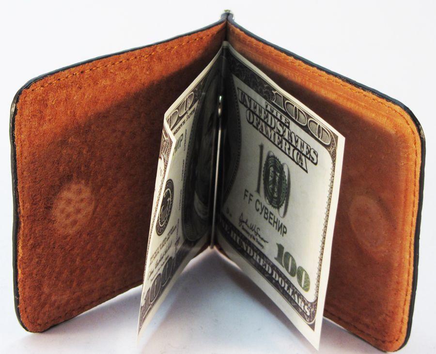 Мужской зажим для денег