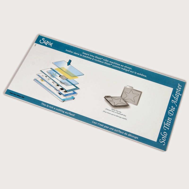 Тонкий адаптер для пластин для вырубки, Solo Wafer-Thin Die Adapter, (арт.657160)