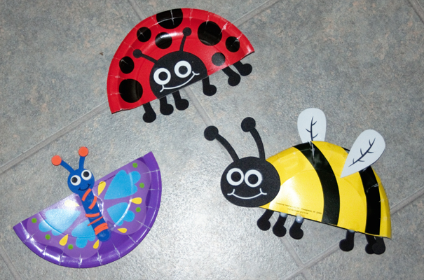 Snails and puppy dog tails b is for bugs for Bugs arts and crafts