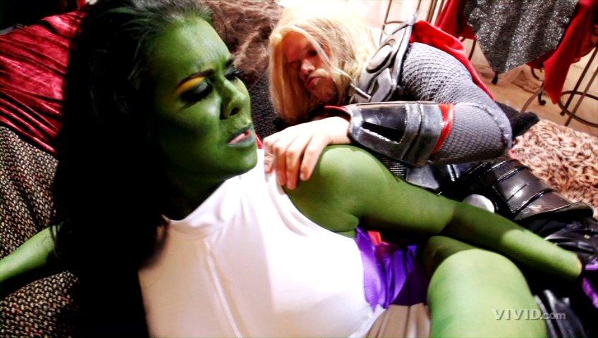 Avengers xxx she hunk