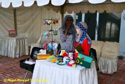 Rajut Merajut on Pasar Sore Ramadhan Citraland Tegal
