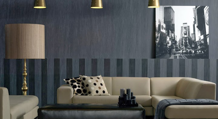Marzua c mo forrar las paredes con tela entelar - Materiales para paredes ...