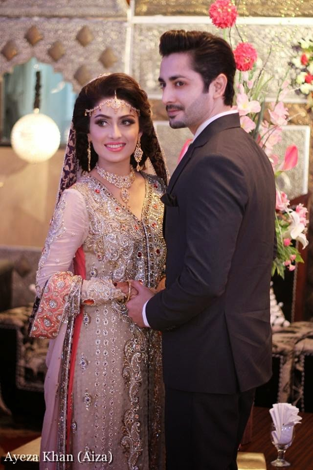 Aiza Khan Walima Reception Pics
