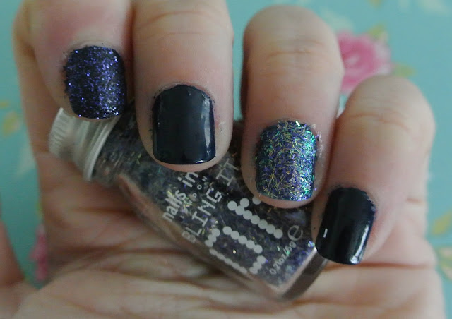nails inc midnight swatch