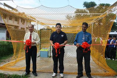 Perasmian Batting Cage dan Pitching Machine di SMK Tanah Putih, Pahang