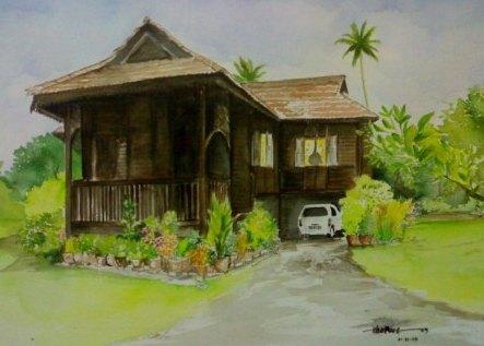 Foto kali ini.... Rumah Tradisional