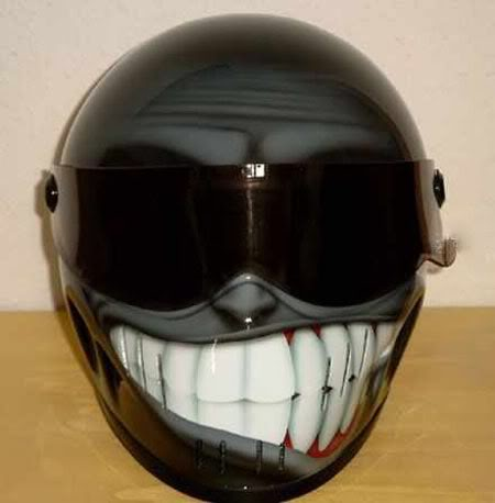 Custom motorcycle helmets