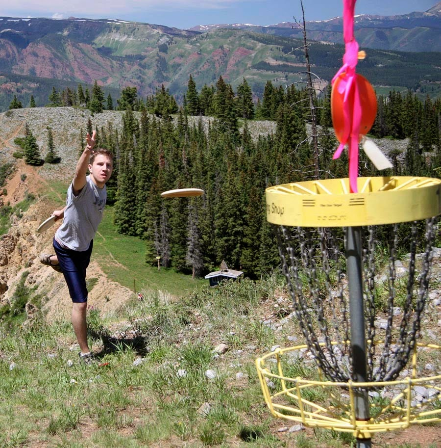 Disc Golf Tournament at Tahoe