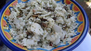 Salata de conopida cruda