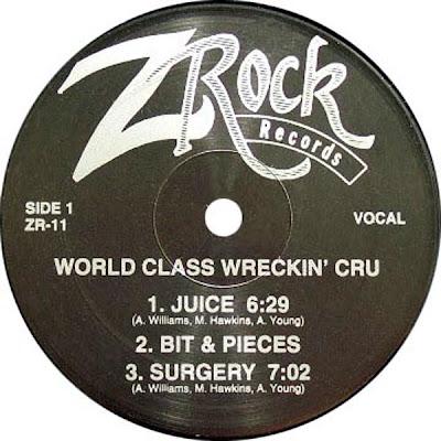 World Class Wreckin Cru – Juice (1985, VLS, VBR)
