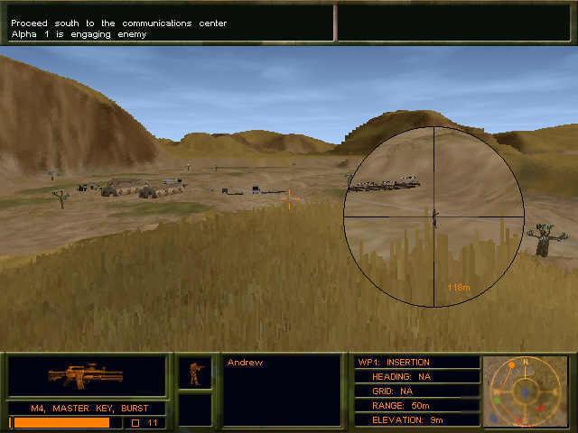 REVIEW Delta Force 2 ( PC Novalogic)